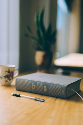 bible blue