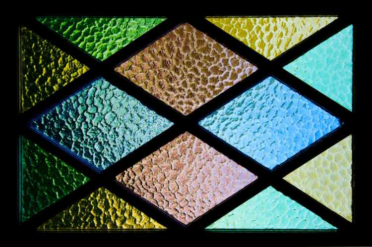 stained glass colors